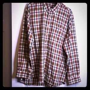 Alan Flusser Mens button down dress shirt size XL